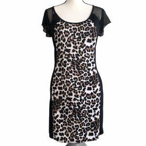 Annabelle cheetah dress